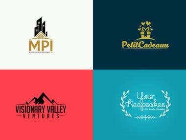 My Flat Professional Logo Design