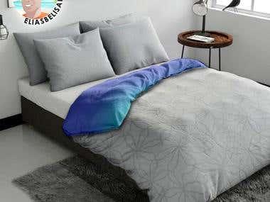 Bed mockup design