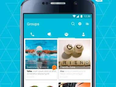 Pigeon App (Android Chat app)