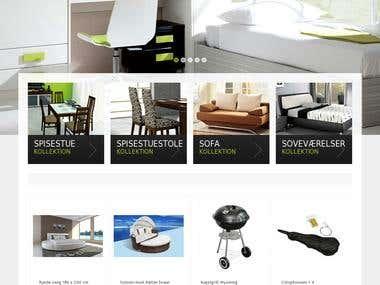 Home furniture webstore