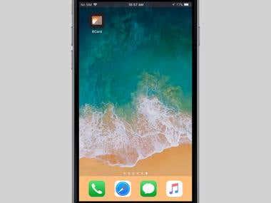 Business Card IOS App