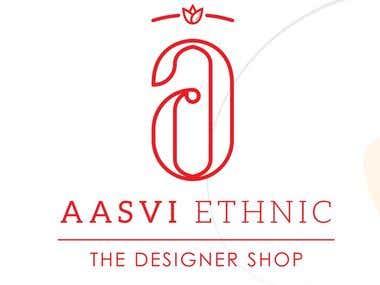 Logo Design Aarvi Ethanic