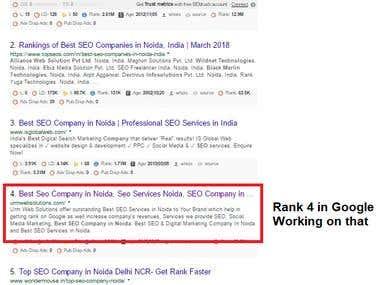 Google Rank #4