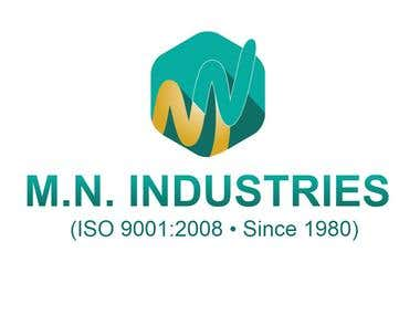 Logo Design M.N. Industries
