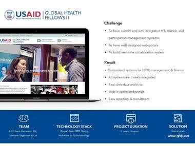 Web Development US-AID