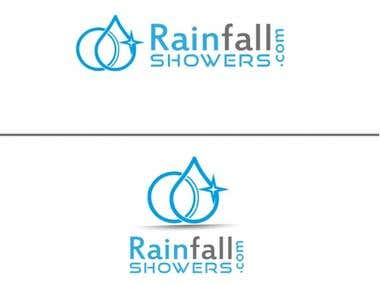 "Logo design for ""RainFall""."
