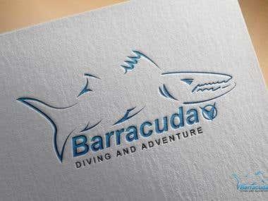 BARRACUDA POINT Logo design by Mohsin Hasan