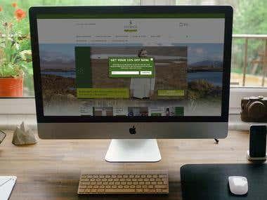 Magento eCommerce website - http://www.standun.com/