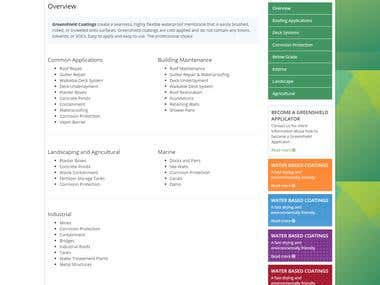 Greenshield Coating Website