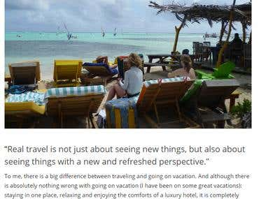 The Difference Between Vacation and Travel