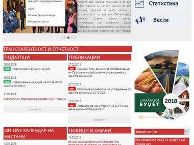 Drupal 7 CMS website