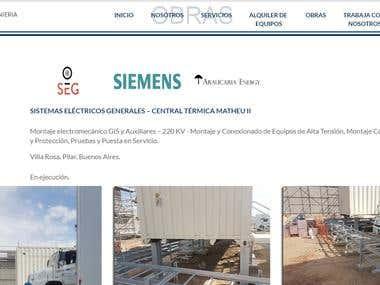 Web Profesional Romer Ingenieria