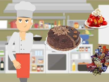 Sweet Tooth App promotional Video