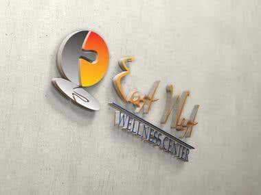 Logo design - Hanging letters