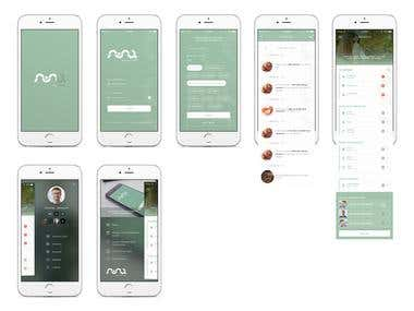 ALLERGY - iOS App Design UI/UX