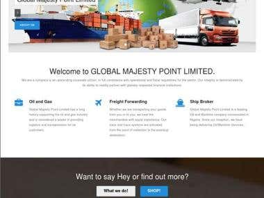 Professional Web Design For Global Majesty Point Limited