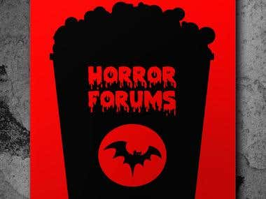 Horror forums poster