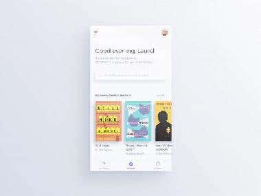 E-book iOS App