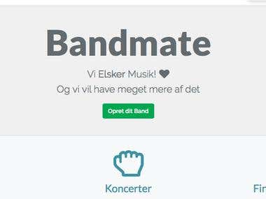 Bandmate.dk