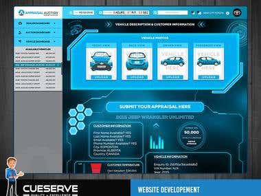 Website Screen Design
