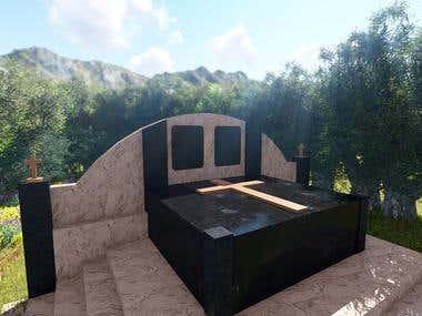 Desain 3D dan rendering