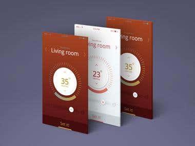 Roommeter ui design