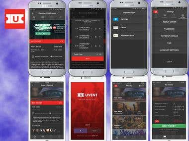 Android&iPhone Ticket Application
