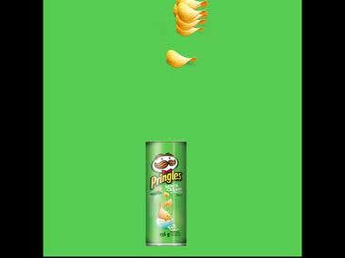 pringles advertisement in social media
