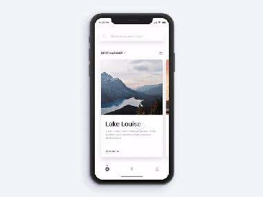 Travel App for iOS X