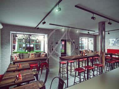 Craft Burg Rustic Industrial Restaurant Design