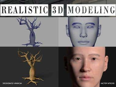 REALISTIC 3D MODELING