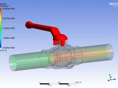 Water Valve Simulation Using Ansys