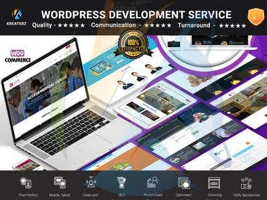 Wordpress Web Development Service