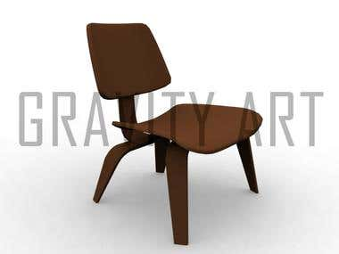 3D Modeling Furniture Chairs
