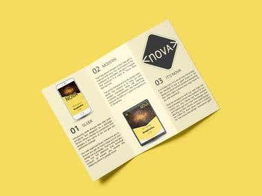 """Project """"Nova Brochure"""""""