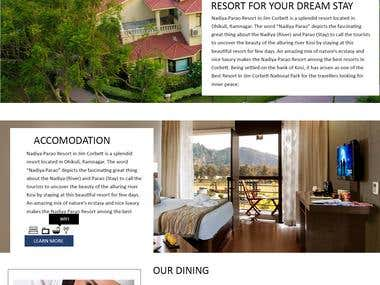 WordPress technology- Resort