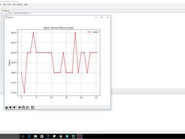Wear Testing Machine Data Plotter