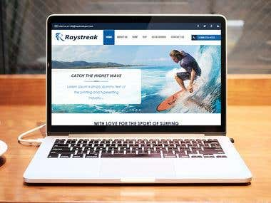 Raystreak - E-Commerce Website Development