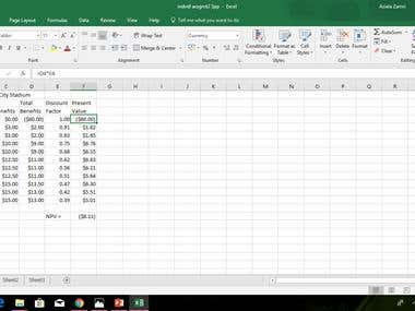 calculate cost benefit analyst