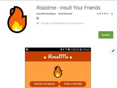 Roastme - Android App