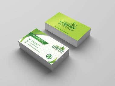 Business Card 3d Theme