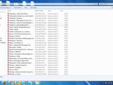 Web Page to PDF File