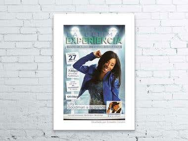 Graphics - Promo designs for Lilly Goodman concert