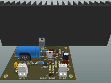 Laboratory High Voltage PowerSupply in Altium Designer
