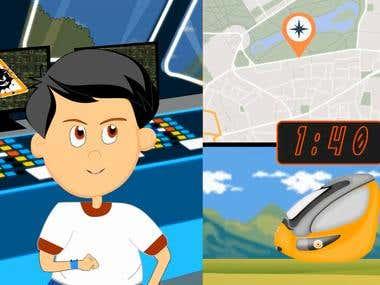 2D Animation for children