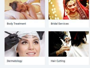 salonathomes ( ladies beauty parlour site )