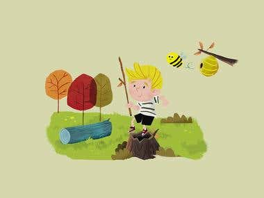 Art Direction / Illustration / ChildrenBooks