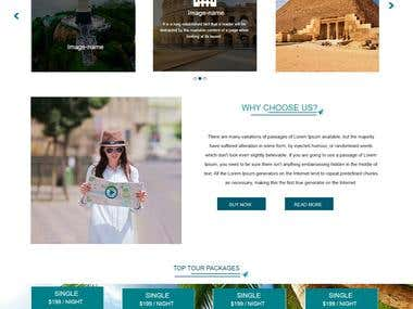 Travels Site- Wordpress