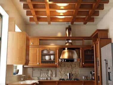 interior designing of kitchen