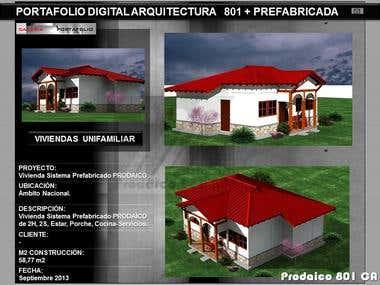 Architecture Portafolio / Portafolio Arquitectura